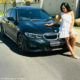 Simphiwe Ngema celebrates her birthday with a new BMW 3 Series
