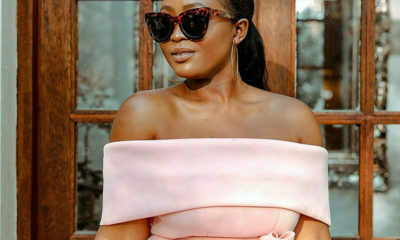 Mihlali Ndamase and Thandi Gama share images of their outfits from the Almay luncheon