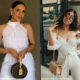Thuli Phongolo and Sarah Langa Mackay step out in all-white outfits
