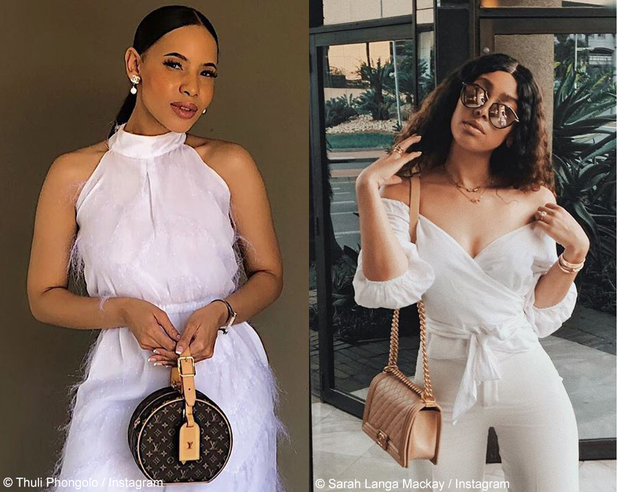 Thuli Phongolo And Sarah Langa Mackay Step Out In All
