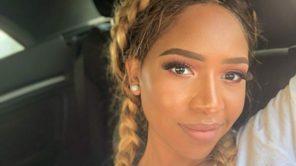 Blue Mbombo showcases an extravagant gesture speculated to be from her boyfriend
