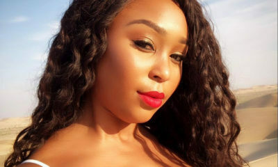Minnie Dlamini Jones shares video in a bikini while in Cape Town