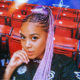 Sho Madjozi showcases pink and black hairdo in WWE advertisement