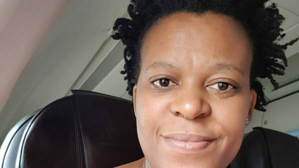 Zodwa Wabantu promotes possible employment opportunities at Herrwood Medical Centre