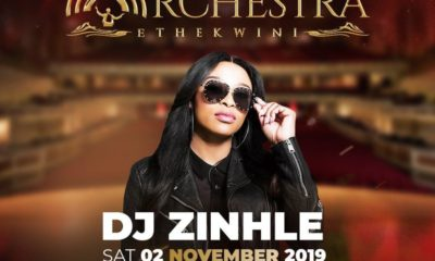 DJ Zinhle announces additional acts for the AKA Orchestra Ethekwini concert