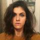 Alexandra Daddario wears dark eyeshadow look to a gala dinner