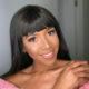 Blue Mbombo serves hot looks in pink ensemble
