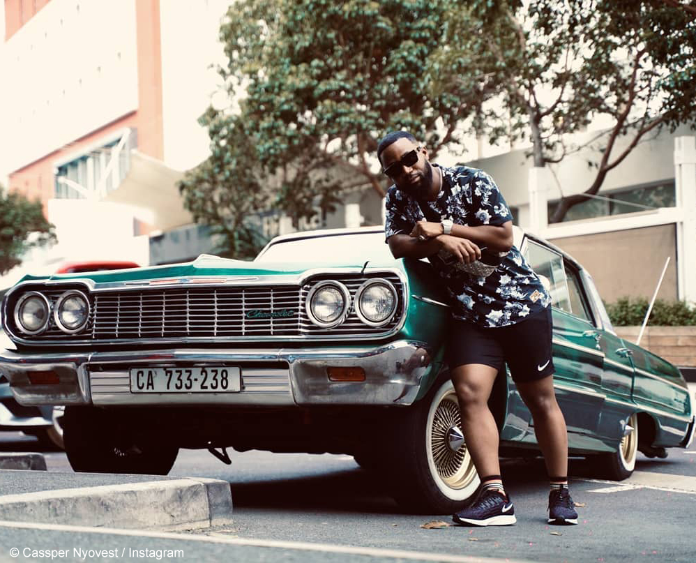 Cassper Nyovest explores Cape Town during his stay in the city