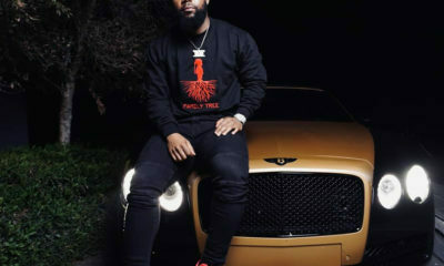 Cassper Nyovest shares image of his Bentley parked next to a Ferrari