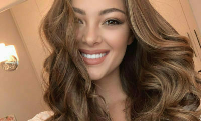 Demi-Leigh Nel-Peters shares a tutorial on how to achieve perfect curls