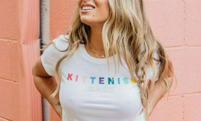 Jessica James Decker's Kittenish fashion line launches new Halloween Sweatshirts