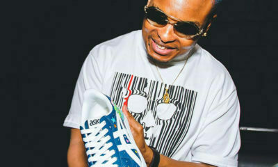 K.O receives exclusive sneaker from brand, Asics, to commemorate his album release