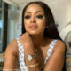 Lerato Kganyago wears subtle make-up with her Flutter by LKG eyelashes