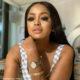 Lerato Kganyago wears subtle make-up with her Flutter by LKG eyelashes