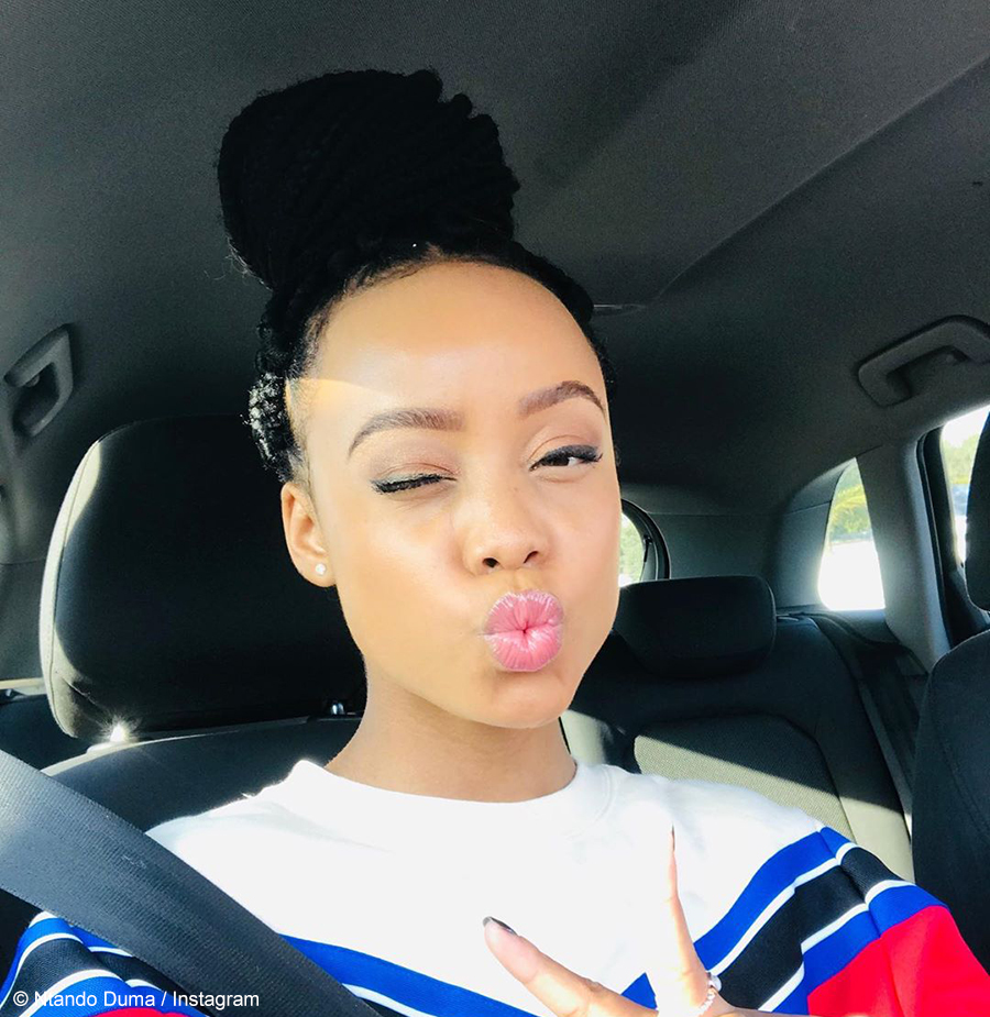 Ntando Duma announces the launch of her Spaza Eats App