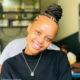 Ntando Duma wears red Miano Designs jumpsuit to Thapelo Mokoena's new restaurant