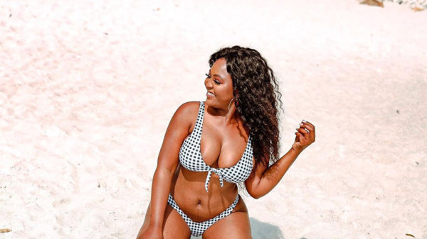 Thandi Gama shares swimsuit images from her recent trip to Cape Town