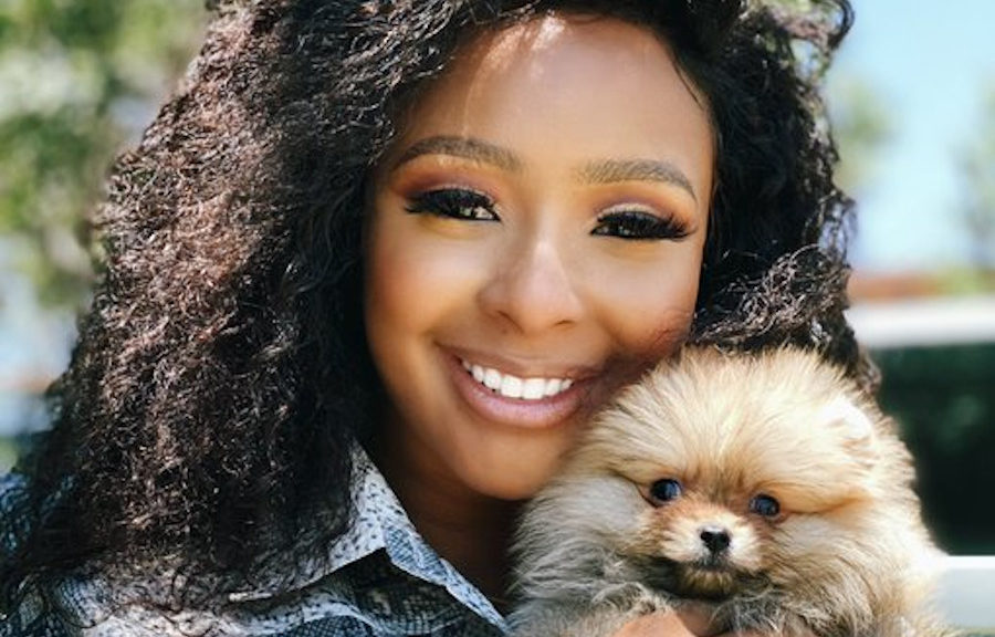 Boity Thulo's family encourages her to have babies instead of focusing on her puppies