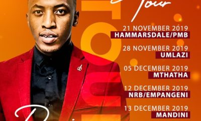 Dumi Mkokstad reveals schedule for upcoming Town To Town Tour