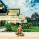 Maluma celebrates Armistice Day by meditating at his mansion in Medellín