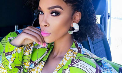 Nhlanhla Nciza pairs subtle make-up with bold eyelashes for the Ngeke Balunge music video