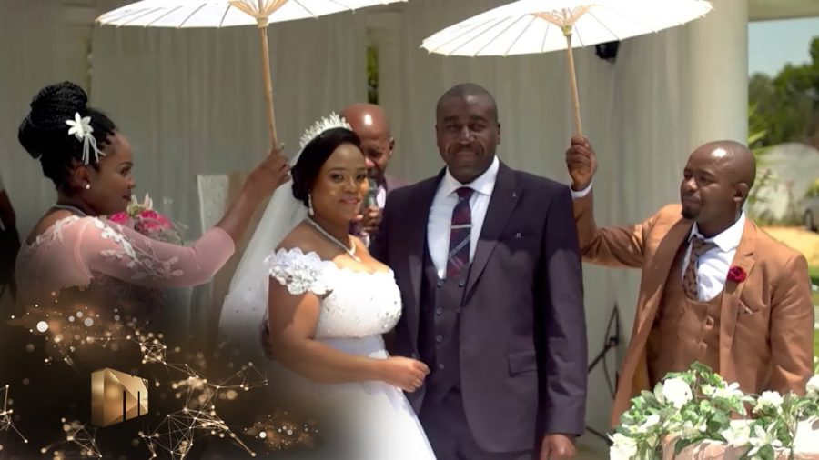 Our Perfect Wedding Mpho and Joe wed more than a decade after meeting