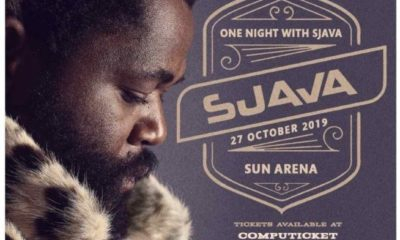 Sjava to release One Night With Sjava performance as live DVD and CD set