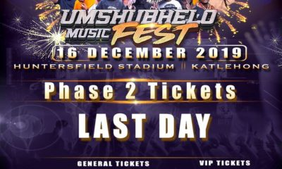 Kwesta announces ticket price increase for Umshubhelo Music Fest