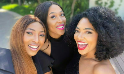 Amanda du-Pont shares images with her celebrity friends, encouraging female solidarity
