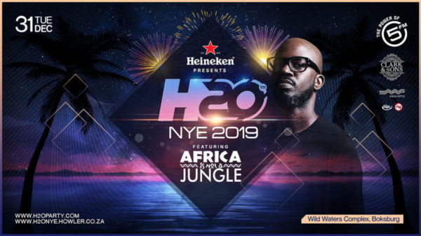 Black Coffee to headline H20 New Year's Eve party