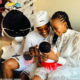 Nandi Madida and Bontle Moloi spend first Christmas with their new babies