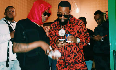 Cassper Nyovest and Wizkid and DJ Maphorisa at Rusty Summer Fiesta