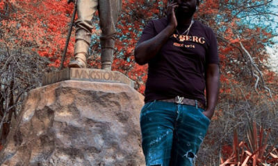 DJ Maphorisa David Livingstone during trip to Zimbabwe