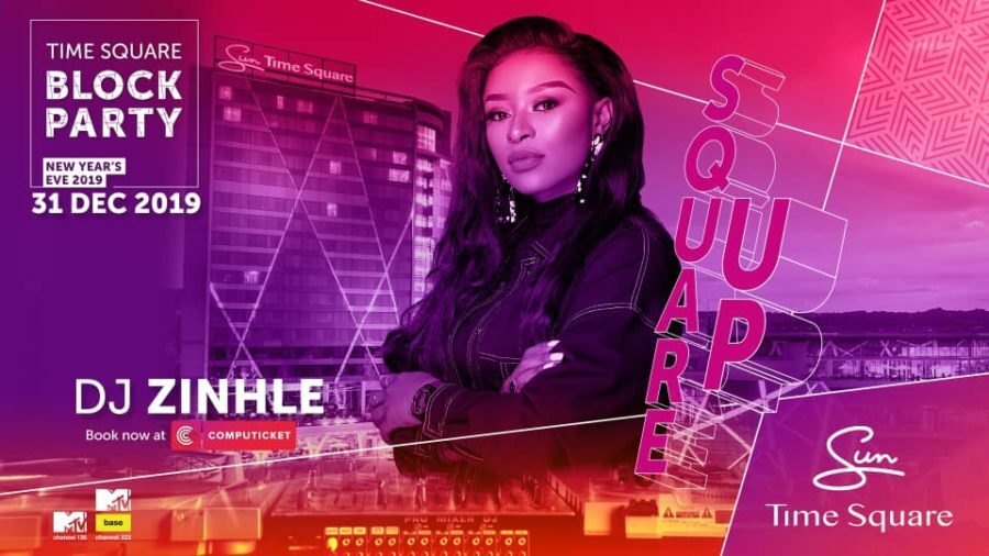 DJ Zinhle MTV Africa New Year's Eve Block Party line-up