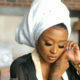 DJ Zinhle shows off her make-up look by Beezglam