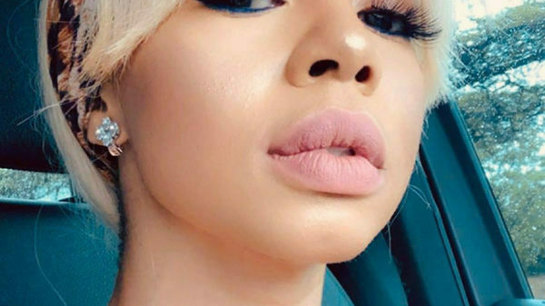 Kelly Khumalo reveals new tattoo, covering wedding finger tattoo received with Chad Da Don