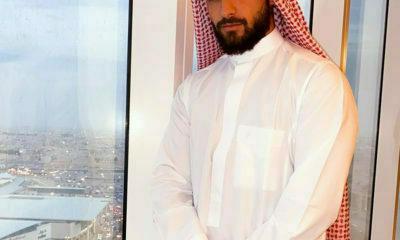 Maluma embraces traditional wear during his stay in Saudi Arabia