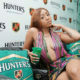 Nadia Nakai showcases auburn hair while promoting her debut album