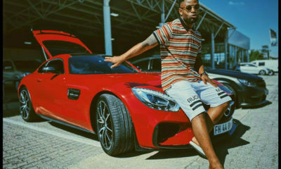 Prince Kaybee purchases a Mercedes AMG coupe as an early Christmas present