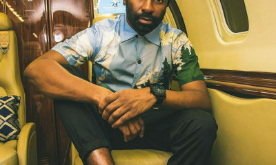 Riky Rick showcases Daily Paper merchandise