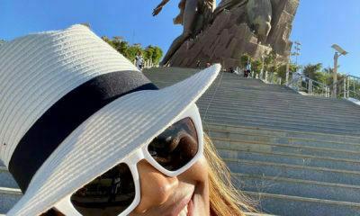 Terry Pheto shares moments from her Dakar trip on social media