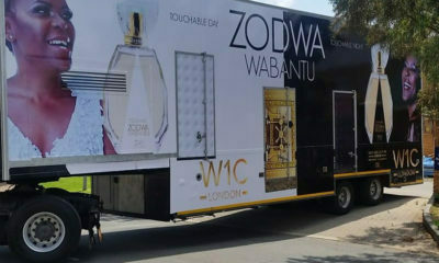Zodwa Wabantu to promote her new perfumes in all provinces