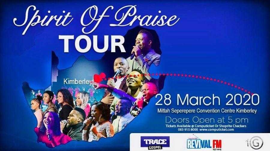 Benjamin Dube Spirit Of Praise Tour