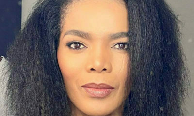 Connie Ferguson showcases natural hair