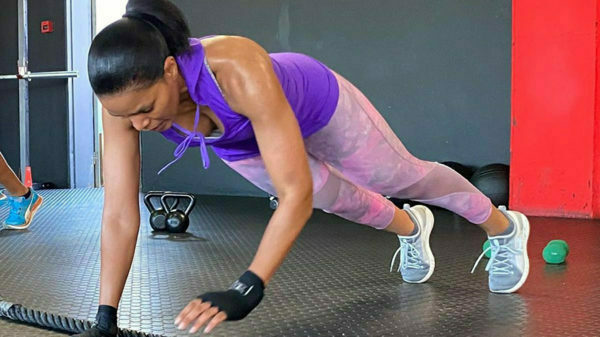 Connie Ferguson shares video of workout session