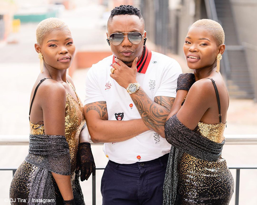 DJ Tira previews new music with the Qwabe Twins