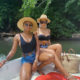 DJ Zinhle wears black Thabootys swimsuit on vacation with Pearl Thusi