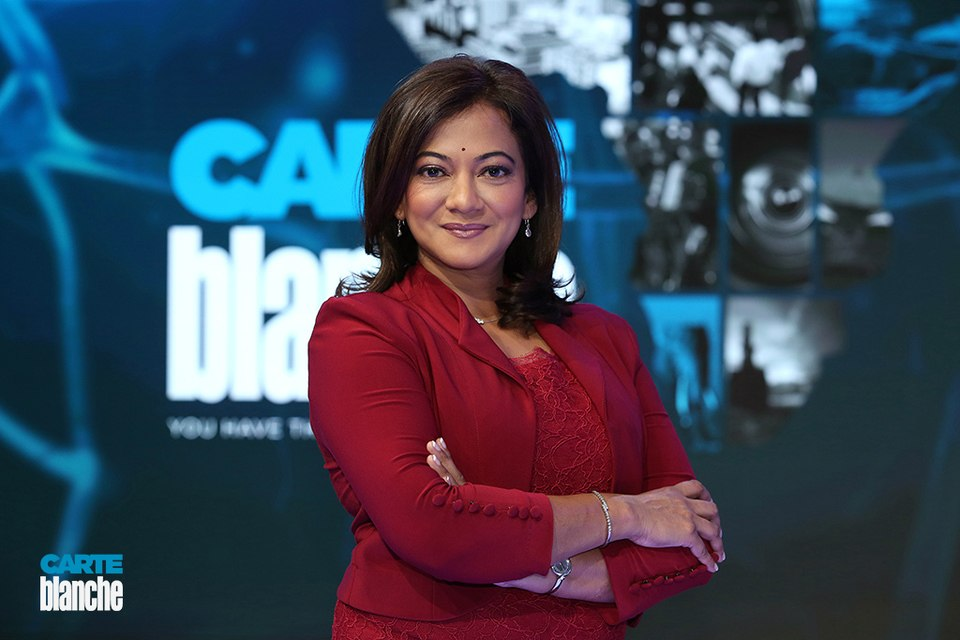 Devi Sankaree Govender announces departure from Carte Blanche