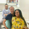 Minnie Dlamini Jones and husband, Quinton Jones, share images from recent dental appointment