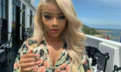 Faith Nketsi wears floral print crop top in latest Instagram post
